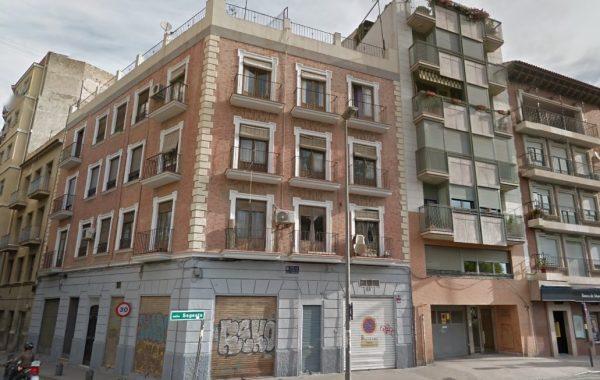 Rehabilitación fachada casco antiguo